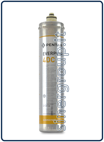 Everpure 4DC antimicrobial replacement filter 11.350lt. - 1,9lt./min. 0,5 micron (6)