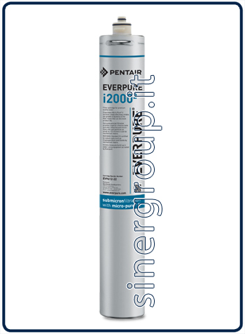 Everpure Insurice 2000(2) antimicrobial antiscale replacement filter 34.000lt. - 6,3lt./min. 0,5 micron (6)