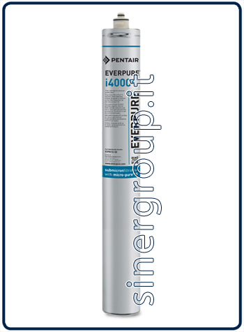 Everpure Insurice 4000(2) antimicrobial antiscale replacement filter 45.360lt. - 6,3lt./min. 0,5 micron (6)
