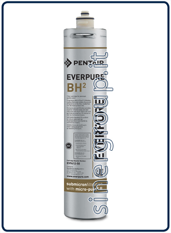 Everpure BH(2) antimicrobial antiscale replacement filter 11.340lt. - 1,9lt./min. 0,5 micron (6)