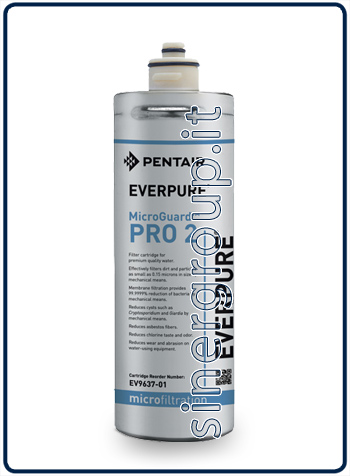 Everpure MicroGuard™ Pro2 replacement filter 8.330lt. - 3,8lt./min 0,15 micron (6)