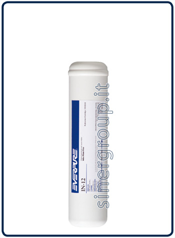 "Everpure IN-12 antiscale replacement in-line filter 18.170lt. - 2,8lt./min. - 1/4"" (6)"
