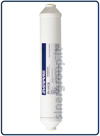 Everpure IN-15 CR resins antiscale replacement in line filter 335lt.@21°F. - 2,8lt./min. (1)