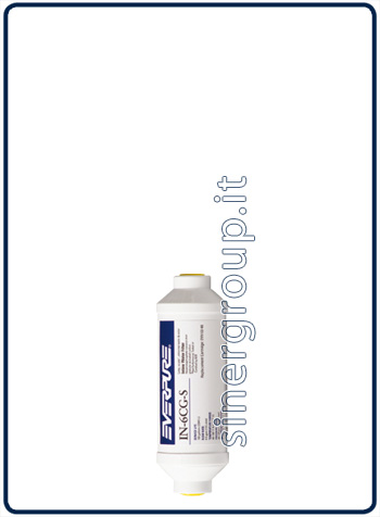 "Everpure IN-6 CG-S antiscale replacement in-line filter 2.646lt. - 2,8lt./min. - 1/4"" (6)"