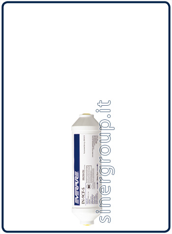 "Everpure IN-9 CF-S antiscale replacement in-line filter 5.670lt. - 2,8lt./min. 5 micron - 1/4"" (6)"